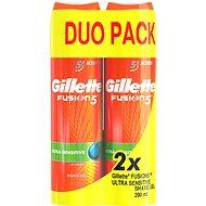GILLETTE Fusion Sensitive 2 x 200 ml - Gel na holení