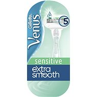 GILLETTE Venus Extra Smooth Sensitive + hlavice 1 ks - Dámský holicí strojek