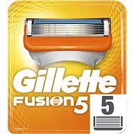 GILLETTE Fusion 5 ks - Pánské náhradní hlavice
