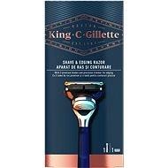 KING C. GILLETTE Shave&Edging + hlavice 1 ks - Holicí strojek