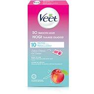 VEET Gen Z Wax Strips Nectarine 10 ks - Depilační pásky