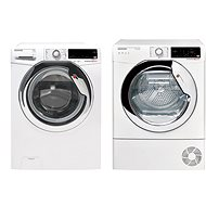 HOOVER DXOA4 37AH / 1-S + HOOVER DXW4 H7A1CTE - Washer and dryer set