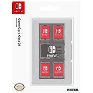 Hori Game Card Case 24 Clear - Nintendo Switch - pouzdro