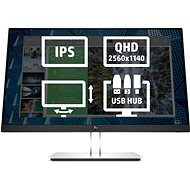 "24"" HP E24q G4 - LCD monitor"