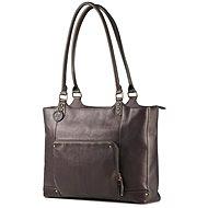 "HP Ladies Leather Tote Brown 15.6"" - Brašna na notebook"