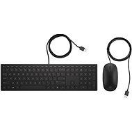 HP Pavilion Wired Deskset 400 HU - Set klávesnice a myši