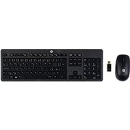 HP Slim Wireless Keyboard and Mouse CZ - Set klávesnice a myši