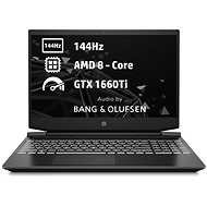 HP Pavilion Gaming 15-ec1006nc Shadow Black White - Herní notebook
