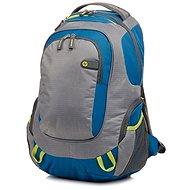"HP Outdoor Sport Backpack Blue / Green 15.6"" - Batoh na notebook"