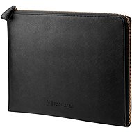 "HP Spectre Black Leather Sleeve (Zipper) 13.3"" - Pouzdro na notebook"