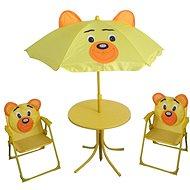 Happy Green Piknikový dětský set BEAR - Zahradní nábytek