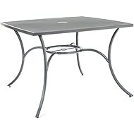 Happy Green Steel Square Table MAINE - Garden tables