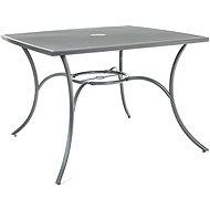 Happy Green Stůl ocelový čtvercový MAINE - Zahradní stůl
