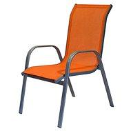 Happy Green Židle zahradní, oranžová - Zahradní židle