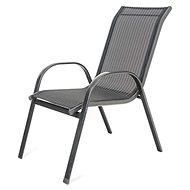 Happy Green Židle zahradní RAMADA, antracit pruh - Zahradní židle