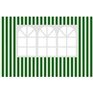 Happy Green Bočnice k zahradnímu altánu s oknem, pruhy - Bočnice k altánu
