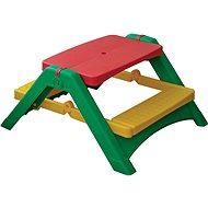 Skládací stoleček s lavicemi - Dětský nábytek
