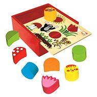 Bino Krabička s tvary - Krteček - Didaktická hračka