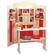 Bino Kombinovaná dětská prodejna - Herní set