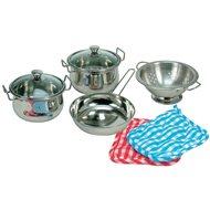 Bino Sada nerezového nádobí - Dětské nádobí