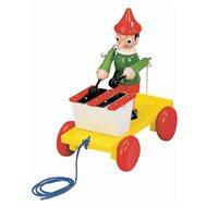 Bino Tahací Pinocchio s xylofonem - Tahací hračka