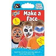 GALT Barva na obličej - Kreativní sada