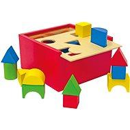 Woody Krabička na procvičování tvarů - Didaktická hračka