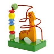 Woody Motorický labyrint - Žirafa - Didaktická hračka