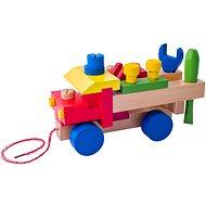 Woody Montážní auto - Didaktická hračka