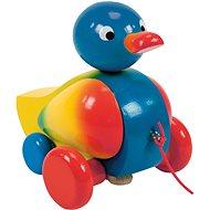 Woody Tahací dřevěná kachna - Tahací hračka