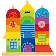 Woody Rainbow - Můj dům - Didaktická hračka