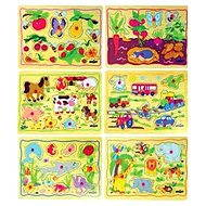 Woody Puzzle na desce - Dětské motivy - Puzzle