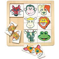 Woody Puzzle - Animal Heads - Puzzle