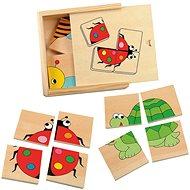 Wooden Minipuzzle - Ladybug - Puzzle
