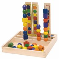 Woody Navlékadlo Logik - Didaktická hračka