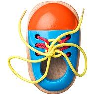 Woody Šněrovací botička - Didaktická hračka