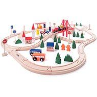 Woody Vláčkodráha s mostem a nádražím - Vláčkodráha