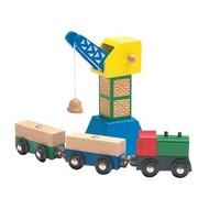 Woody - Příslušenství k dráze - Překládací jeřáb s magnetem - Příslušenství k vláčkodráze