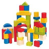 Woody Kostky barevné - Dřevěné kostky