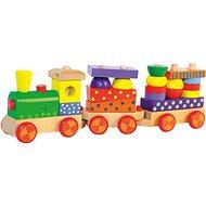 Woody Skládací vlak se světlem - Vláček
