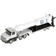 Siku Blister - Die-Cast Low Loader with Rocket