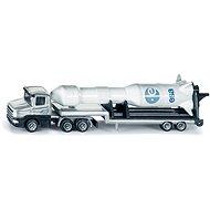 Siku Blister – Tahač s podvalníkem a raketou - Kovový model