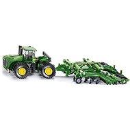 Siku Farmer - Traktor John Deere 9630 s bránami Amazone Centaur - Kovový model
