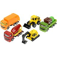 Siku Super - Set of construction vehicles