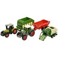 Siku Super – Sada zemědělských strojů - Kovový model