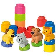 Clementoni Clemmy - Zvířátka - Stavebnice