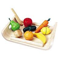 Přepravka s ovocem a zeleninou