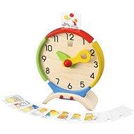 Plan Toys Hodiny Nauč se čas - Didaktická hračka