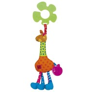 K's Kids Veselá žirafa Igor - Hračka na kočárek