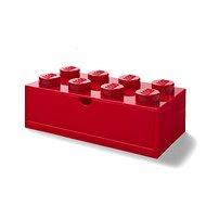 LEGO stolní box 8 se zásuvkou červený - Úložný box